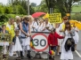 Anti Fracking Protest, Lancashire (PNR). 23.08.2017