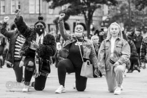 Black Lives Matter. Bradford. 03.06.2020