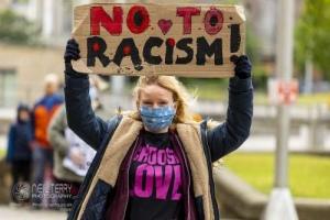 Black Lives Matter. Bradford. 06.06.2020