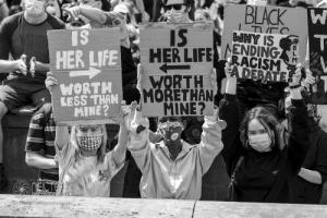 Black Voices Matter, Leeds. 14.06.2020