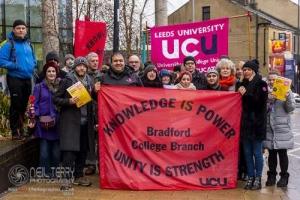Bradford College Strike, 28.11.2018