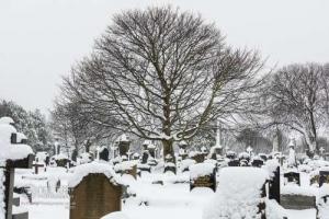 Bradford in snow. 02.02.2021