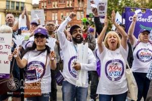 Bradford NHS rally. 02.08.2019