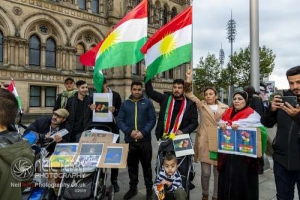 Bradford stands with Rojava. 17.10.2019