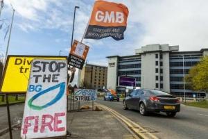 British Gas fire & rehire strike. Leeds. 29.03.2021