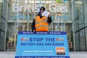 British Gas Strike, Leeds. 22.01.2021
