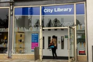 Central Library, Bradford. 07.10.2019
