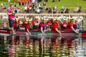 Dragon Boats at Roundhay, Leeds. 19.05.2019