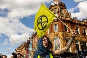 Extinction Rebellion, Leeds. July 2019