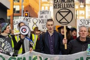 Extinction Rebellion, Manchester. 24.11.2018