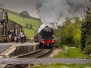 Flying Scotsman at Keighley WVR. 03.04.17 - 09.04.17