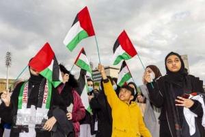 Free Palestine protest, Bradford. 11.05.2021