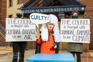 GALBA and XR Leeds Solidarity protest. 14.05.2021