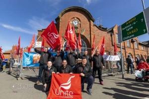 Go North West bus strike. Manchester .22.04.2021