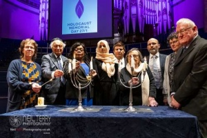 Holocaust Memorial Day, Leeds. 26.01.2020