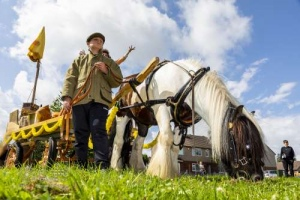 Horse and Cart by Spin Arts, Bradford. 28.07.2021
