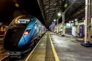 Huddersfield train station. 20.02.2021