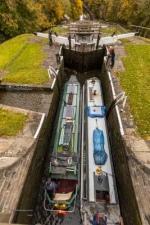 ingley 5 Rise Locks. 28.10.2020