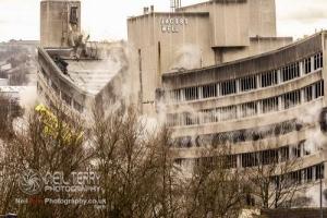 Jacobs Well demolition, Bradford. 17.02.2019