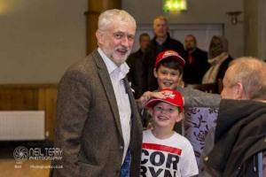 Jeremy Corbyn in Leeds 01.12.2017