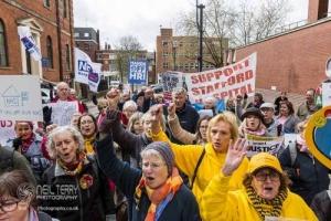 Justice4NHS Rally, Leeds. 24.04.2018
