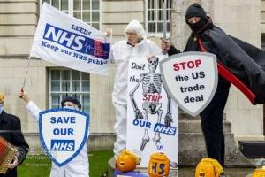Keep Our NHS Public (KONP) Leeds. 24.10.2020