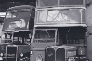 Keighley Bus Museum and Keighley WVR on film. 04.07.2021