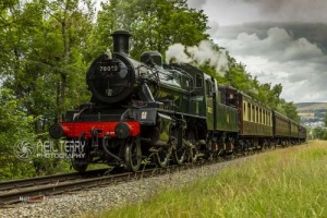 Keighley Worth Valley Railway. 21.07.2019