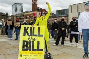 Kill the Bill (policing bill), Leeds. 21.03.2021