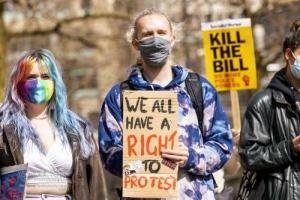 Kill the (policing) Bill, Manchester. 10.04.2021
