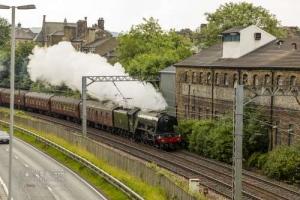 KWVR and Flying Scotsman at Bingley. 11.07.2021