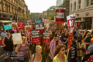 Leeds Stand Up To Trump 13.07.2018