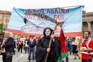 Liverpool Against the Arms Fair. 11.09.2021