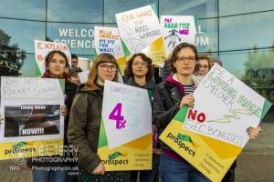 Media Museum strike, Bradford. 24.10.2019