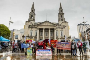 NHS 73 birthday rally, Leeds. 03.07.2021