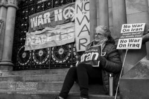 No war with Iran, Bradford. 12.01.2020