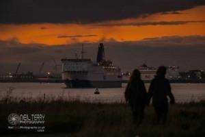 North Sea Ferries, Hull. 10.10.2020
