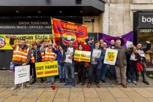Northern Rail guards strike (RMT) 15.09.2018