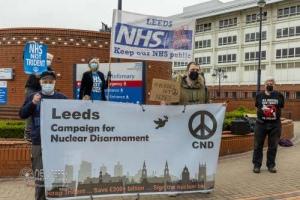 Nurses not nukes, Leeds. 01.04.2021