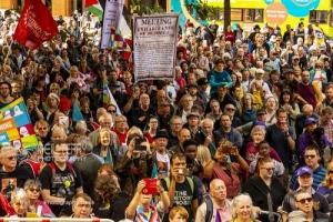Peterloo commemoration march. 18.08.2019