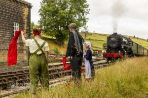 Railway Children Weekend at KWVR. 29.08.2021