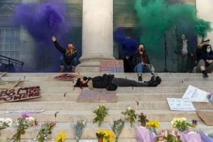 Reclaim the Streets vigil for Sarah Everard, Leeds. 15.03.2021