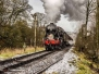 Santa Steam Special on the Keighley Worth Valley Railway. 25.11.2017