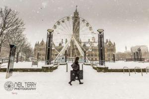 Snow hits Bradford 28.02.2018