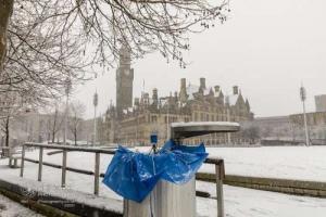 Snow in Bradford. 14.01.2021