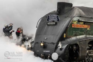 Steam in York. 15.02.2020