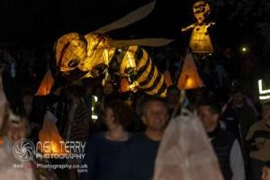 Sundowner lantern parade, Saltaire. 20.04.2019