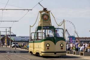 The trams of Blackpool. 18.07.2021