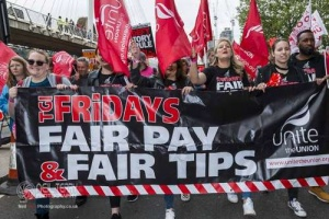 TUC New Deal Demo, London. 12.05.2018