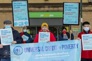 Universal Credit Day of Action, Bradford. 09.12.2020